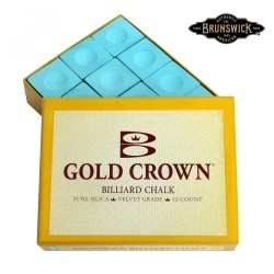 Мел Brunswick Gold Crown зеленый 12 шт